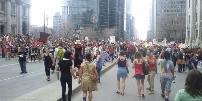 Grève étudiante mars 2012