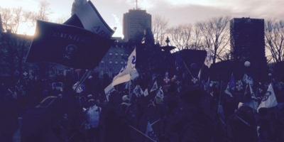 Manifestation contre l\'austérité novembre 2014
