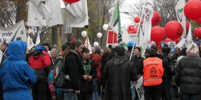 Manifestation du 1er mai 2012