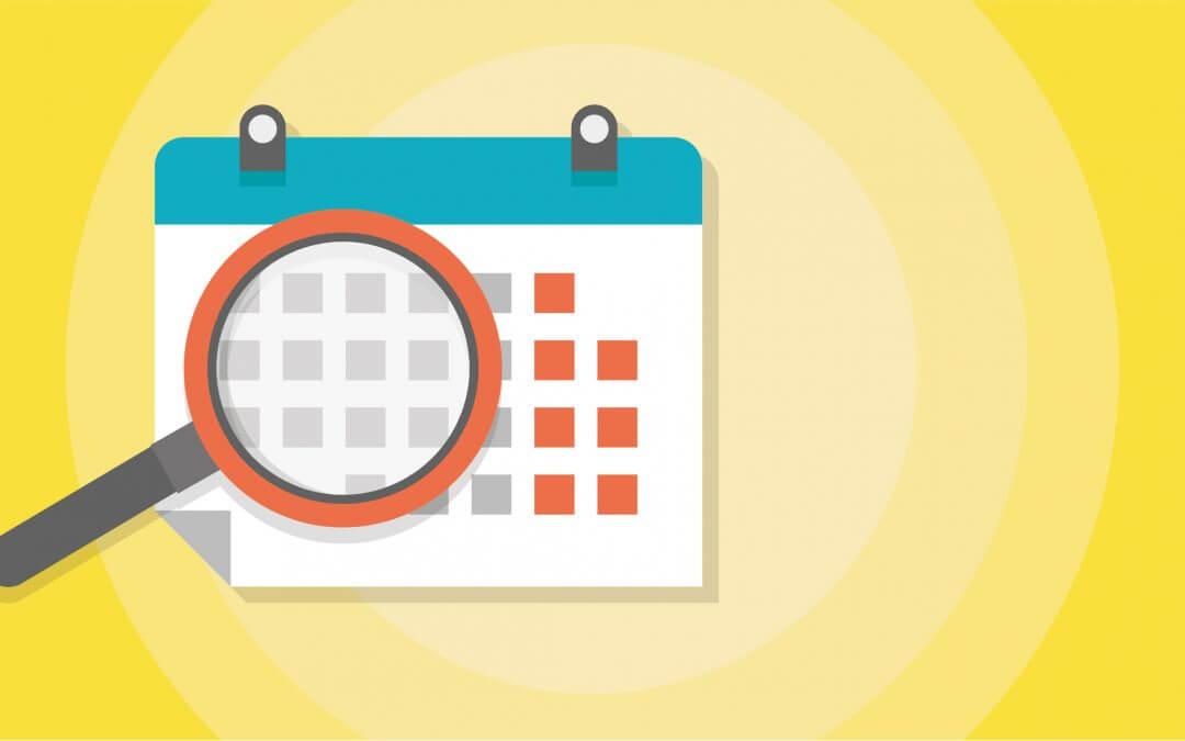 Communiqué 2020 – 12 – Dates importantes à venir et modifications