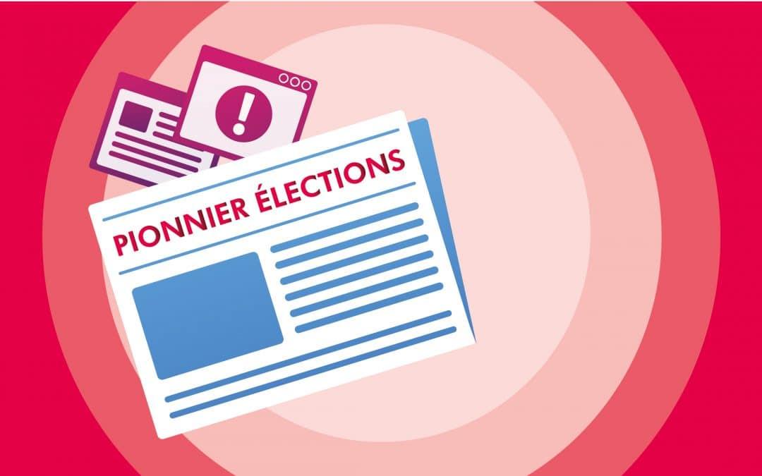 Pionnier Élections partielles 2021